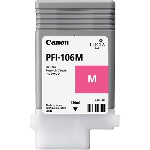 Чернильный картридж Canon PFI-106 M