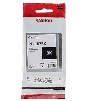 Чернильный картридж Canon PFI-107 BK