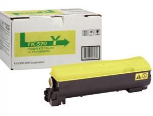 Тонер-картридж Kyocera TK-570Y