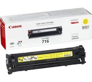 Картридж Canon 716 Yellow