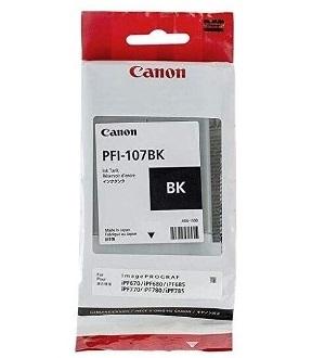 Чернильный картридж Canon PFI-107 BK 90мл