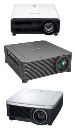 Вся линейка проекторов Canon