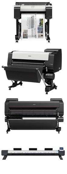 Вся линейка широкоформатных принтеров и сканеров Canon
