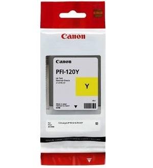 Чернильный картридж Canon PFI-120 Y 90мл