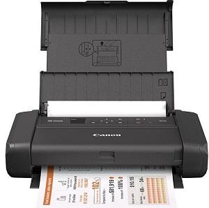 Портативный принтер Canon PIXMA TR150 с аккумулятором [4167C027]