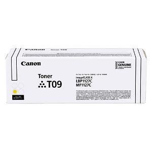 Тонер-картридж Canon T09 TONER Y
