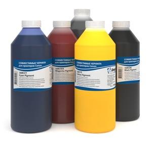 Комплект чернил IIMAK для 5-цветных принтеров Canon iPF TM-200/205/300/305, TX-2100/3100/4100, 1000 мл