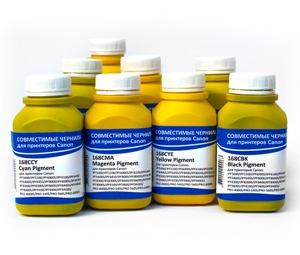 Комплект чернил IIMAK для 8-цветных фотопринтеров Canon iPF 6400S/8400S/9400S, PRO-4100S/6100S, 200 мл