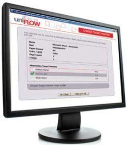 uniFLOW Output Manager - система выходного контроля печати