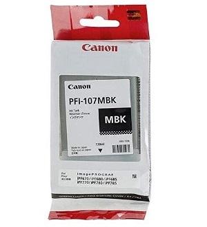 Чернильный картридж Canon PFI-107 MBK