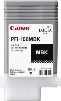 Чернильный картридж Canon PFI-106 MBK