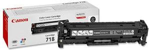 Картридж Canon 718 Black