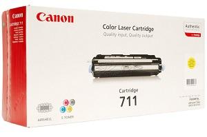 Картридж Canon 711 Yellow