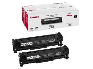 Картридж Canon 718 Black набор из 2 картриджей