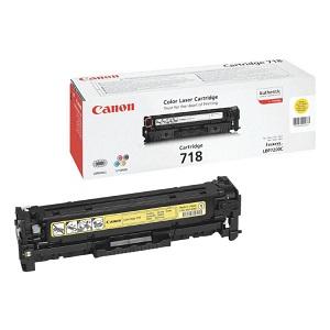 Картридж Canon 718 Yellow