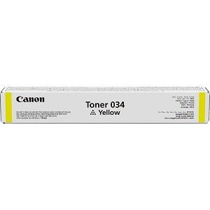 Тонер Canon 034 TONER Y