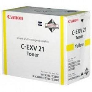 Тонер Canon C-EXV21 TONER Y